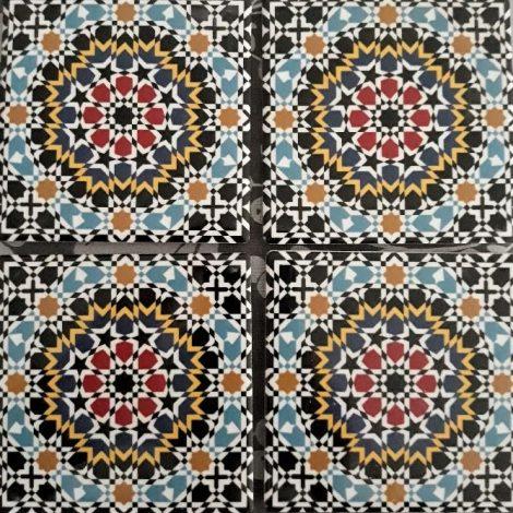 4 dessous de verre marocsens